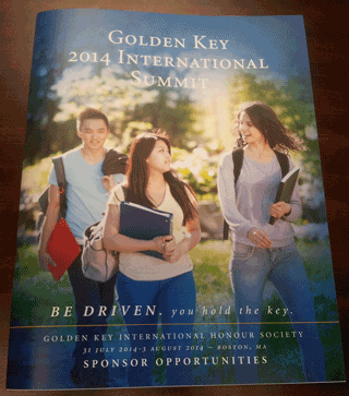 golden key booklet